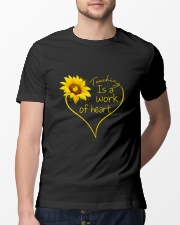 Teaching Is A Work Of Heart Classic T-Shirt lifestyle-mens-crewneck-front-13
