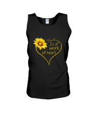 Teaching Is A Work Of Heart Unisex Tank thumbnail