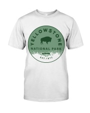 Yellow Stone Classic T-Shirt front