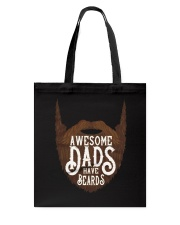 Awesome Dads Have Beards Tote Bag thumbnail