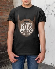 Awesome Dads Have Beards Classic T-Shirt apparel-classic-tshirt-lifestyle-31