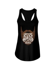 Awesome Dads Have Beards Ladies Flowy Tank thumbnail