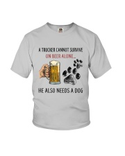 He Also Neef A Dog Youth T-Shirt thumbnail