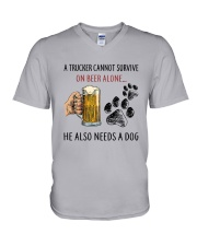 He Also Neef A Dog V-Neck T-Shirt thumbnail