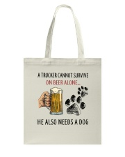 He Also Neef A Dog Tote Bag thumbnail