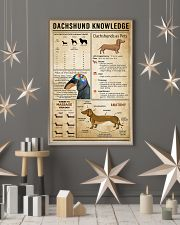 Dachsund Knowledge 11x17 Poster lifestyle-holiday-poster-1