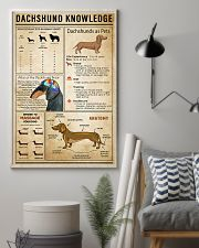 Dachsund Knowledge 11x17 Poster lifestyle-poster-1