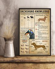 Dachsund Knowledge 11x17 Poster lifestyle-poster-3