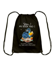 I'm Deal With You Later Drawstring Bag thumbnail