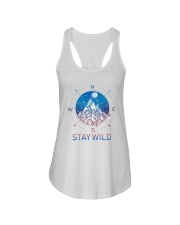 Stay Wild Ladies Flowy Tank tile