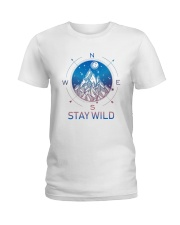 Stay Wild Ladies T-Shirt tile