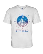 Stay Wild V-Neck T-Shirt tile