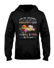 Love Sewing Hooded Sweatshirt thumbnail