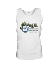 And Into the Forest I Go 3 Unisex Tank thumbnail