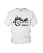 And Into the Forest I Go 3 Youth T-Shirt thumbnail