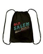 Old Salem Broom Co Drawstring Bag thumbnail
