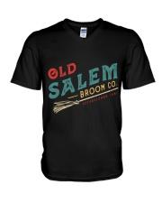 Old Salem Broom Co V-Neck T-Shirt thumbnail