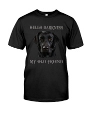 Hello Darkness My Old Friend Premium Fit Mens Tee thumbnail