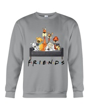 Dog Is Friends Crewneck Sweatshirt thumbnail