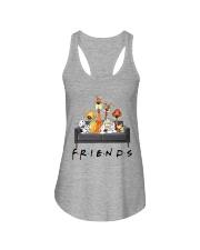 Dog Is Friends Ladies Flowy Tank thumbnail