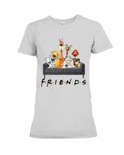 Dog Is Friends Premium Fit Ladies Tee thumbnail
