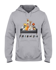 Dog Is Friends Hooded Sweatshirt thumbnail