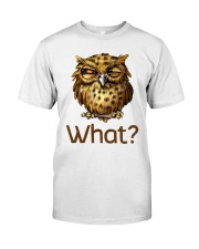 Love Owl Classic T-Shirt front