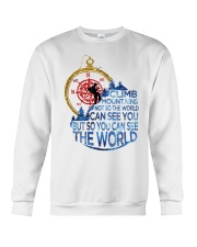 Can See The World Crewneck Sweatshirt tile