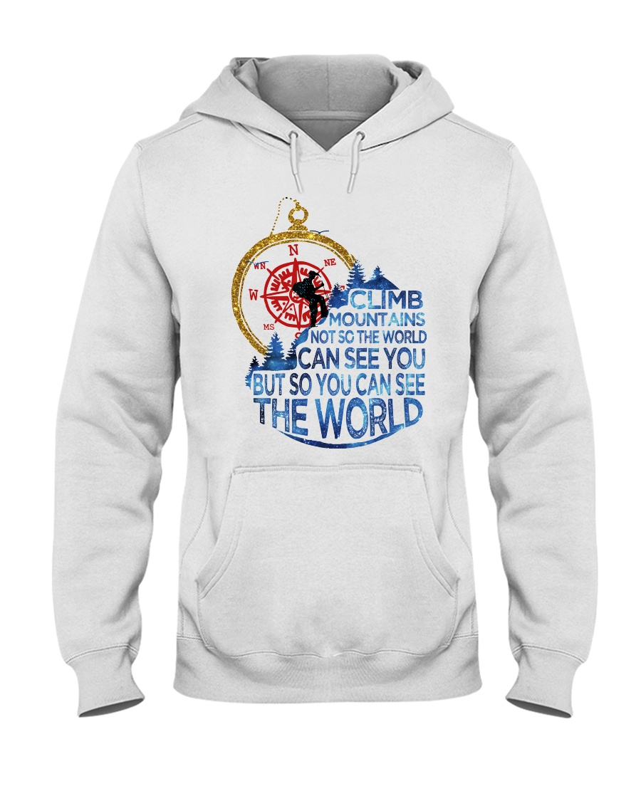 Can See The World Hooded Sweatshirt