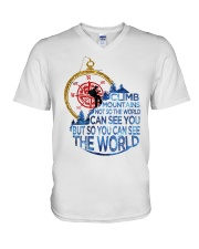 Can See The World V-Neck T-Shirt thumbnail