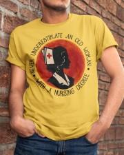 Nursing Degree Classic T-Shirt apparel-classic-tshirt-lifestyle-26