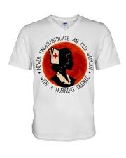 Nursing Degree V-Neck T-Shirt thumbnail