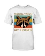 Wanna Touch My Trash Classic T-Shirt thumbnail