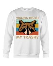 Wanna Touch My Trash Crewneck Sweatshirt thumbnail