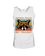 Wanna Touch My Trash Unisex Tank thumbnail
