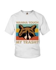 Wanna Touch My Trash Youth T-Shirt thumbnail