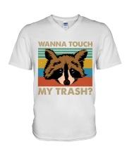 Wanna Touch My Trash V-Neck T-Shirt thumbnail