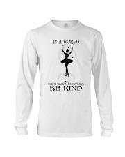 Be Kind In A World Long Sleeve Tee thumbnail