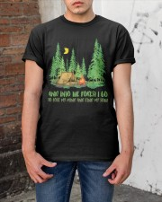 And Into The Forest I Go Classic T-Shirt apparel-classic-tshirt-lifestyle-31