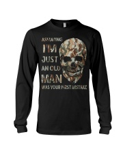 Assuming I'm Just An Old Man Long Sleeve Tee thumbnail