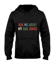 Ask Me About My Dad Jokes Hooded Sweatshirt thumbnail