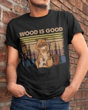 Wood Is Good Classic T-Shirt apparel-classic-tshirt-lifestyle-26