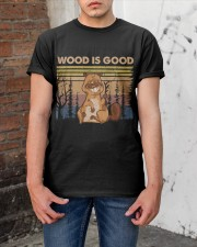 Wood Is Good Classic T-Shirt apparel-classic-tshirt-lifestyle-31