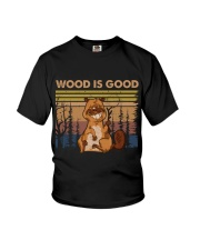Wood Is Good Youth T-Shirt tile