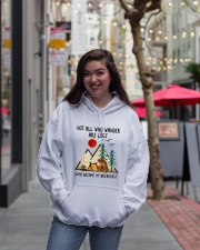 Not All Who Wander Are Lost Hooded Sweatshirt lifestyle-unisex-hoodie-front-2