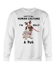 This is My Human Custome Crewneck Sweatshirt thumbnail