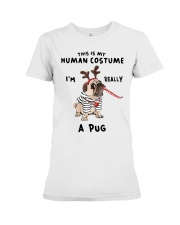 This is My Human Custome Premium Fit Ladies Tee thumbnail