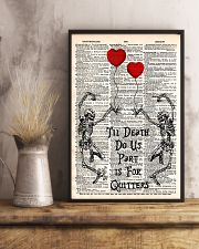 Love Of Skull 11x17 Poster lifestyle-poster-3