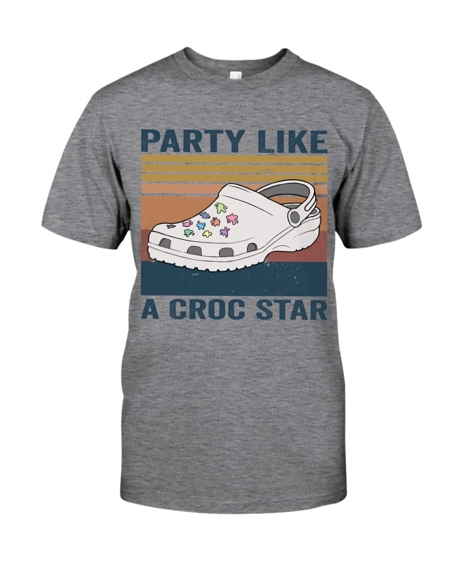 Party Like A Croc Star Classic T-Shirt