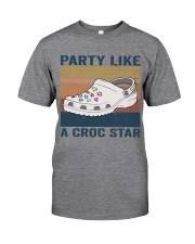 Party Like A Croc Star Classic T-Shirt front